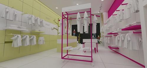 Diseño de Muebles para tienda de ropa de BEBE - a photo on ...