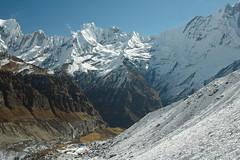 Annapurna Sanctuary (Ziemek T) Tags: nepal hiking himalayas annapurnabasecamp annapurnasanctuary