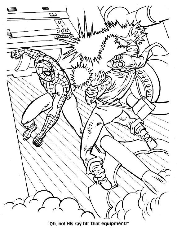 Spider-Man Unmasked! Coloring Book045