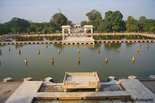 Shalimar Gardens (Lahore)Second terrace