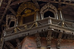 Intricate wood carvings (edda42) Tags: wood nepal carving kathmandu nepalindia7d2010travel