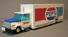 Freightliner FL60 Pepsi Delivery Truck