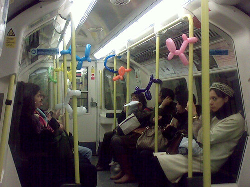 Tube Balloons by Lee Sankey