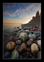 Chimney Bluffs SP (David Copley) Tags: lake nature water sunrise landscape shoreline scenic greatlakes newyorkstate lakeontario chimneybluffs chimneybluffstatepark davidcopley chimneybluffsstateparkwolcottny