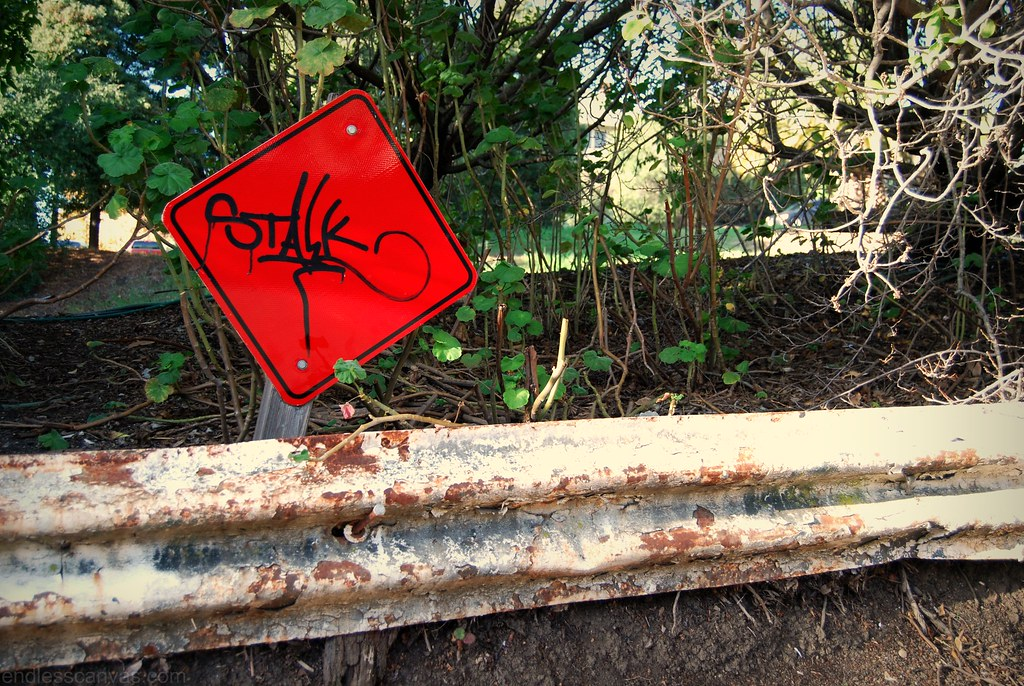 STALK Graffiti Hand Style Tag San Luis Obispo CA.