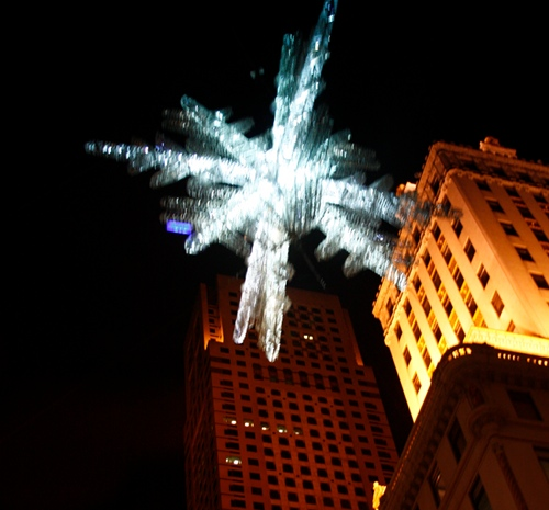 blurry.ny.snowflake