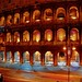 The Colosseum of Rome at Night by Blancs-Manteaux