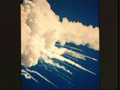 Challenger explosion (photo courtesy NASA)