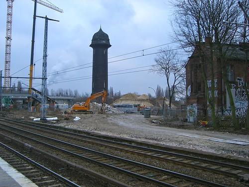 S-Bahnhof Ostkreuz Südkurve