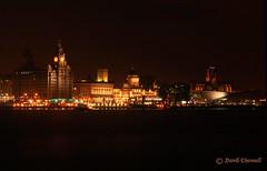 Liverpool Waterfront (David Chennell) Tags: liverpool nightshots pierhead merseyside liverbuilding anglicancathedral 3graces rivermersey portofliverpoolbuilding cunardbuilding