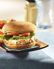 Maple Salmon Burger