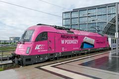 370 006-6 PKP Intercity Berlin Hbf 26.06.17 ii (Paul David Smith (Widnes Road)) Tags: 3700066 pkp intercity berlin hbf 260617 siemens es64u4 pkpic 1251 berlinhbf