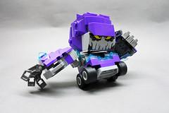 Blockhead : Rumble (danielhuang0616) Tags: blockhead brickheadz mighty micro nexo rumble stone monsters lego moc 2017 70350