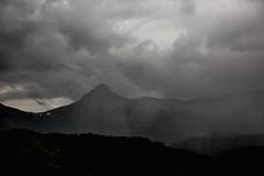 Bridgers (The Noisy Plume) Tags: montana bridgerrange mountains summer squall weather storm