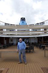 Brian on the verandah (Janspen) Tags: cruise ship sagasapphire brian verandah