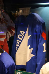 IMG_3265 (Mark Whitmarsh Photography) Tags: icehockey halloffame icehockeyhalloffame hockey canadasgame skates sticks pucks jersey museum sport toronto canon canoneos400ddigital canoneosdigital400d daytrip day stadium city citylife canada halloween train railways skyline skyscraper rain wet blue jays bluejays gobluejays
