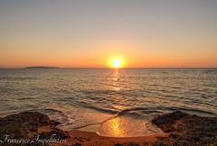 The Journey of the Light (Francesco Impellizzeri) Tags: trapani sicilia sunset panasonic seascape