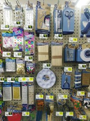 Text Full Frame Indoors  Large Group Of Objects No People Backgrounds Close-up at Dollar General (sobieniak) Tags: text fullframe indoors largegroupofobjects nopeople backgrounds closeup