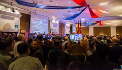 Nearly 800 guests attended this year's U.S. Independence Day reception at the Intercontinental Hotel. (USEmbassyPhnomPenh) Tags: room hall reception party 4th july independence day holiday celebration