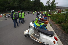 IMG_9336 (Christophe BAY) Tags: mobyltettes francorchamps 2017 rétromobile club spa circuit moto vespa camino flandria