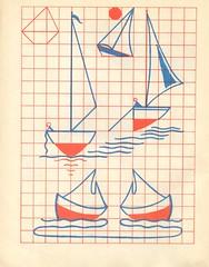 n2 cahier dessin carreau p19