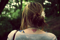 tie me in a bow (hool a hoop) Tags: tattoo forest woods bow marbury