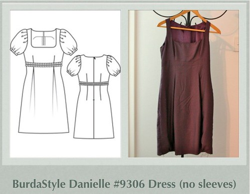BurdaStyle Danielle #9306 Dress (no sleeves)