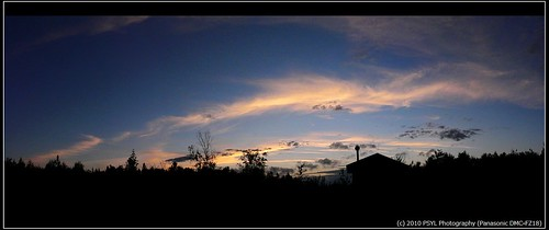 Sunset on 2010-07-24