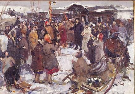 Lenin con el pueblo, 1958