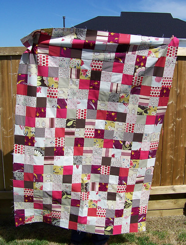 Pink Patchwork - Top Done!