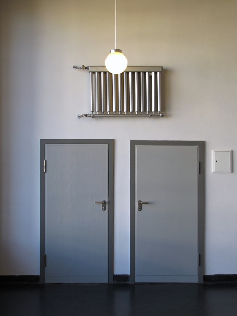 Bauhaus Radiator + Doors (jo.schz) Tags door light white architecture germany & The Worldu0027s most recently posted photos of bauhaus and door - Flickr ...