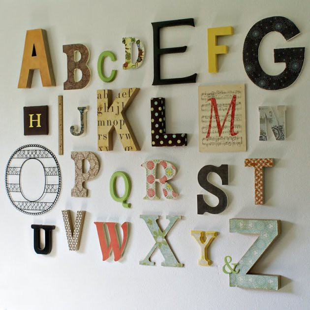 A Time For Everything Alphabet Wall