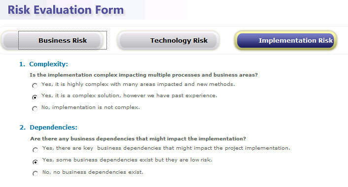 Project Server  How To Customize Risk Evaluation Form