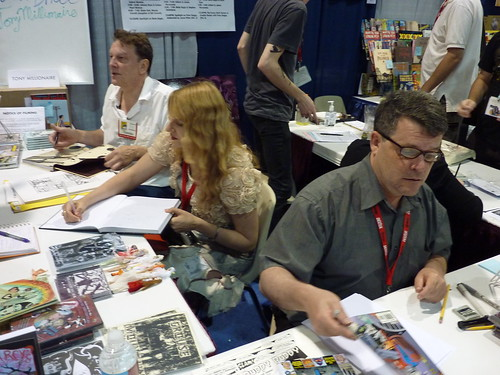 Tony Millionaire, Dame Darcy, Peter Bagge - Fantagraphics at Comic-Con 2010