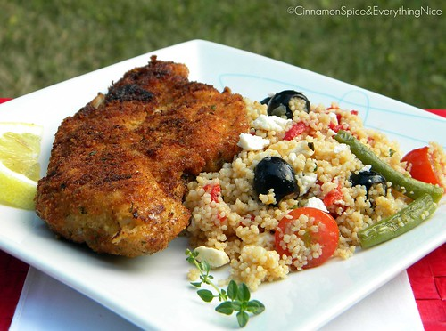 Greek Chicken Milanese Recipes — Dishmaps