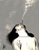 Smoke (Itim may) Tags: fun smoke may bamboo homem fumaça cigarro itim
