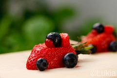 Berry F1 (Lukia ) Tags: color macro cute fruits fruit canon eos interestingness berry colorful berries bokeh flash strawberries f1 ferrari explore micro formula1 softbox blueberries fraise strobe topping baie toppings playingwithfood hotshoe lastolite myrtille speedlite mansikka highbushblueberries jordgubb redcurrants baies blbr mustikka fruitart groseilles groseille canonspeedlite430ex offcameraflash ste2 woodencuttingboard explored i500 strobist 40d fruitmacro ezybox canoneos40d canonef100mmf28lisusmmacro strawberryferrari strawberryferraris