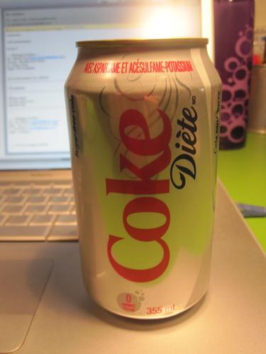 Diet soda - $1.25