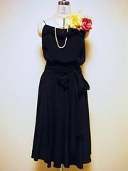 Rufful LBD (yukarma) Tags: dress silk kimono oriental remake reclamation