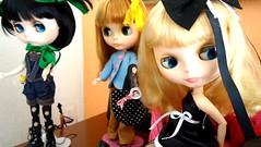 Claudine, Sarah e Camille!