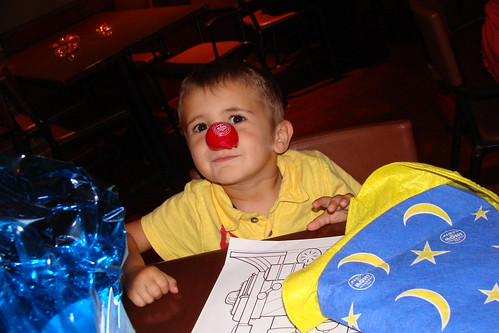 Noah the clown
