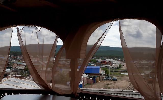 Utsikt fra matsalen