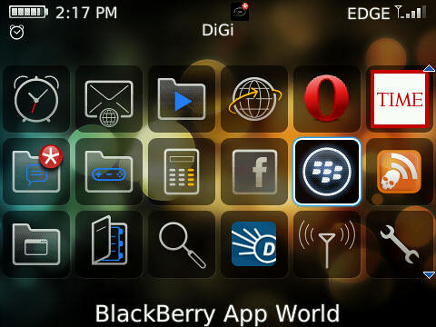 How to get back your missing AppWorld on your Blackberry