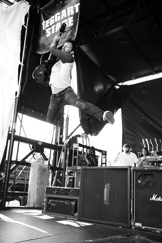 The Dillinger Escape Plan - Warped Tour 2010 Uniondale