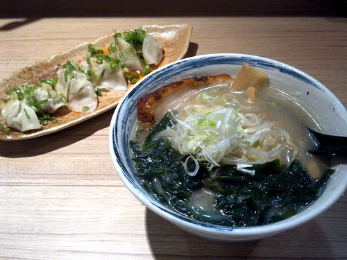 Mini Shio Ramen and Dry Gyoza
