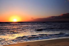 Sunset at Ke'e Beach (Shannon Cayze) Tags: ocean sunset beach water landscape hawaii sand shannon kauai 5d canon5d canonef2470mmf28lusm circularpolarizer keebeach 2470mm gnd bwcircularpolarizer graduatedneutraldensity cayze 5dmarkii canon5dmarkii shannoncayze hitech3stopgnd singhray3stopreversegnd