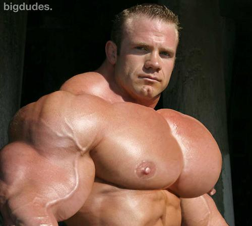 Mistaken. Huge male pecs morph your opinion