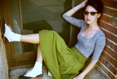 olive green skirt.jpg_effected