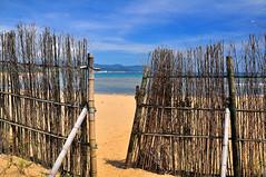 Summer Gate (Bold Huang) Tags: ocean blue sea summer mountain beach nikon d90