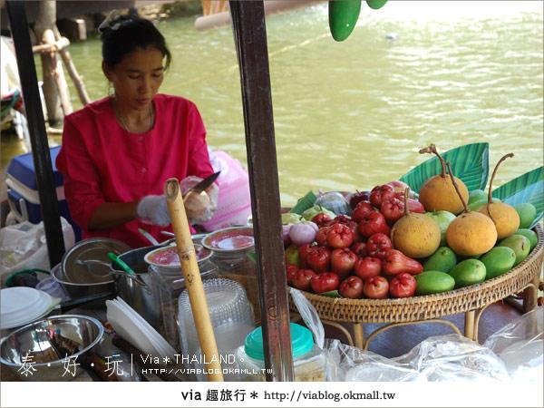 【泰國小吃】泰好吃~大城水上市場美味小吃呷通海!16